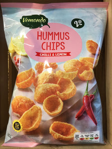 Vemondo Hummus Chilli & Lemon Chips 135g