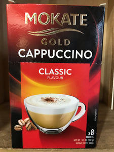 Mokate Classic Gold Cappuccino 8 Sachets 100g