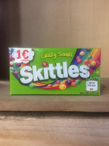 Skittles Crazy Sours 45g Box of 16