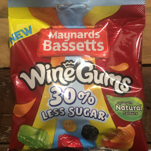 4x Maynards Wine Gums 30% Less Sugar (4x130g)