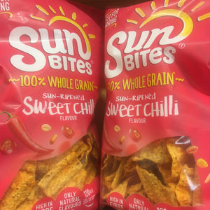 2x SunBites Sweet Chilli Multigrain Snacks Big Share Bags (2x150g)