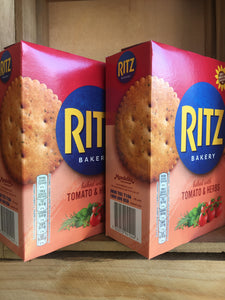 2x Ritz Tomato & Herbs Crackers Box (2x175g)