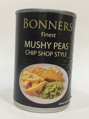 Bonners Finest Mushy Peas Chip Shop Style 300g