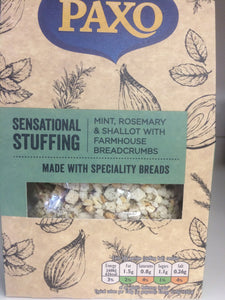 Paxo Sensational Stuffing with Mint, Rosemary & Shallot 110g