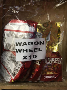 10x Mis-Shape Wagon Wheels Original (10 Pack)