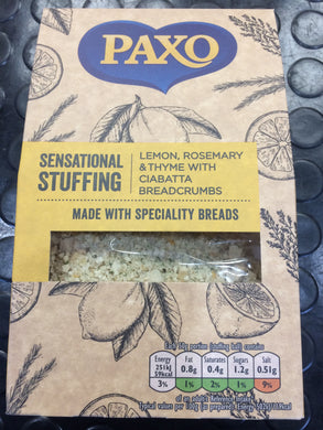 Paxo Sensational Stuffing with Lemon, Rosemary & Tyme 110g