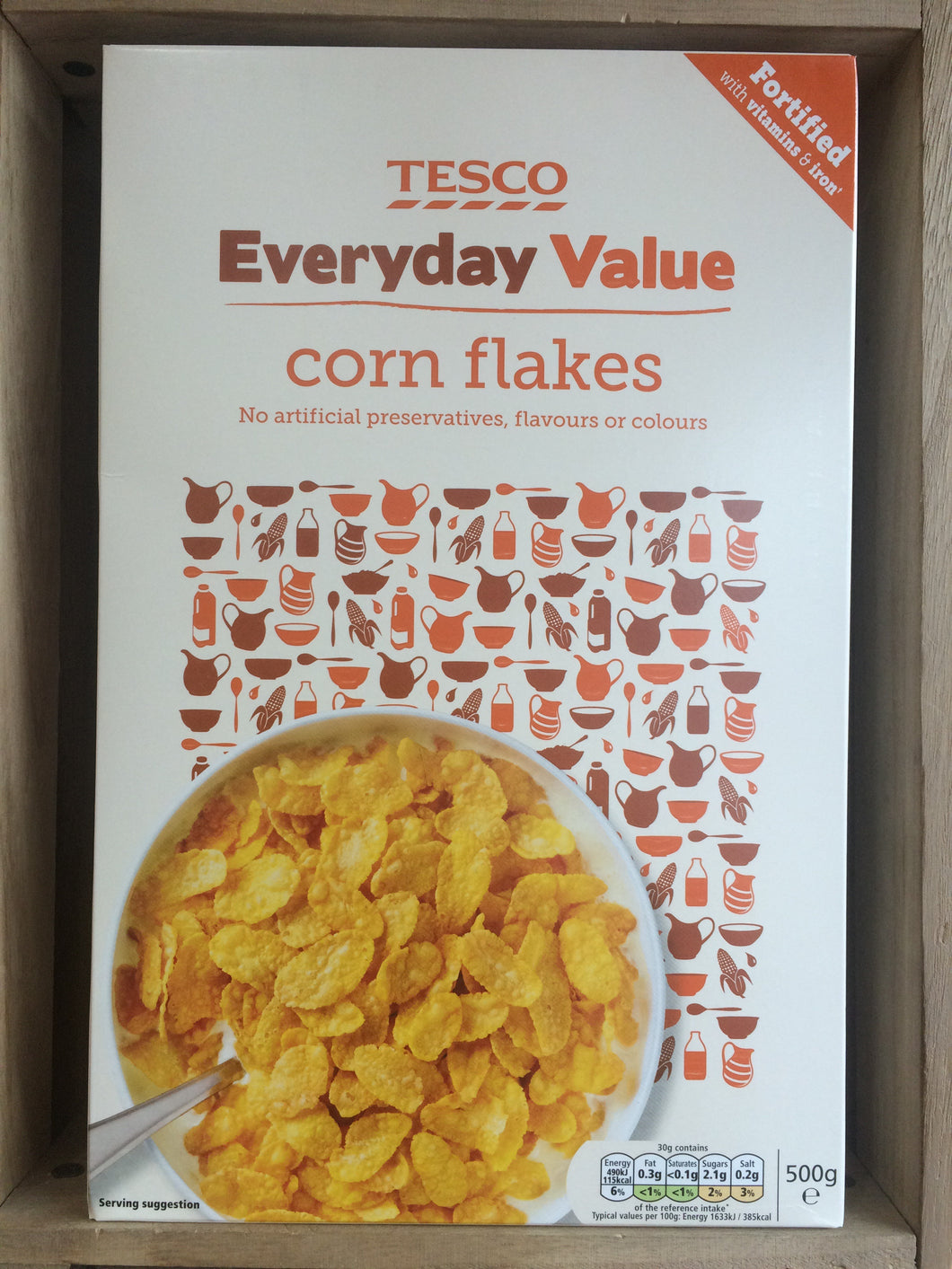 Low Price Corn Flakes Cereal 500g