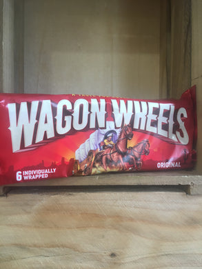 Burtons Wagon Wheels Original 6 Individually Wrapped Biscuits