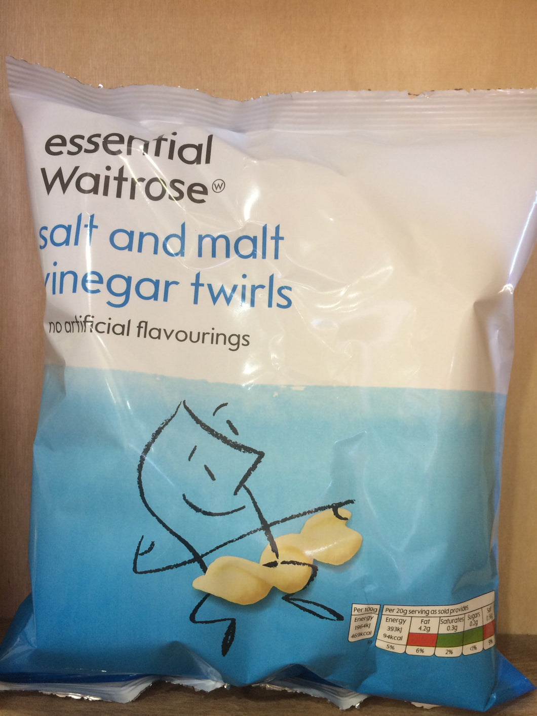 Low Price Salt and Malt Vinegar Twirls 80g