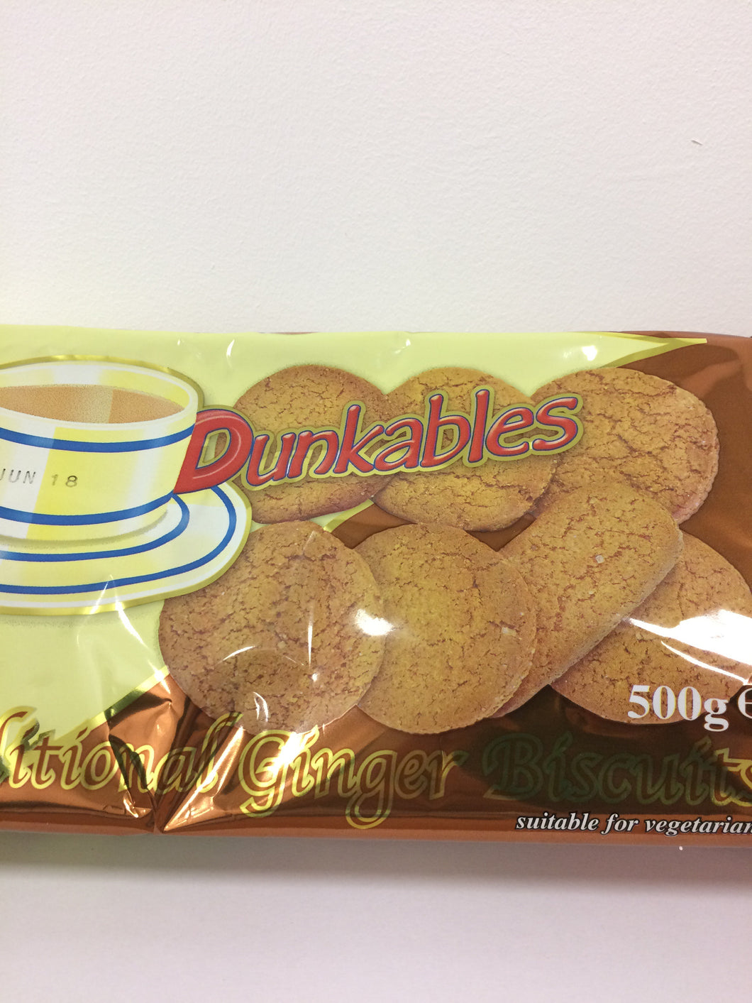 Dunkables Traditional Ginger Biscuits 500g