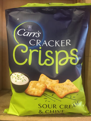 Carr's Cracker Crisps Sour Cream & Chive 150g