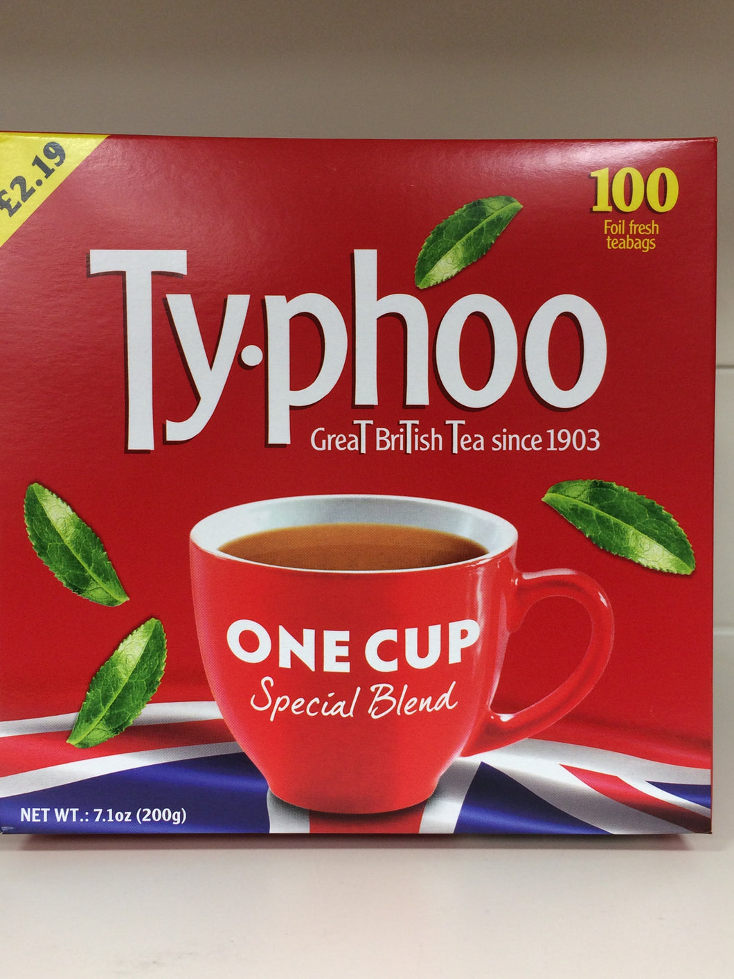 Typhoo One Cup 100 bags