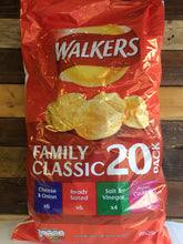 Walkers Family Classic 20 Pack