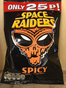 Space Raiders Spicy 20g