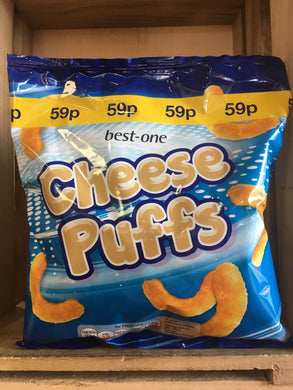 Best-One Cheese Puffs Cheese Flavour Snack 75g