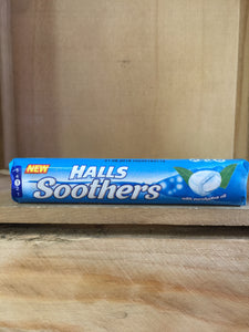 Halls Soothers with eucalyptus oil 45g