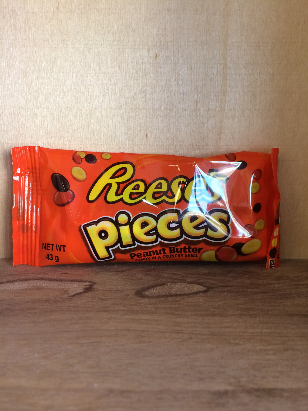Reese's Pieces Peanut Butter Candy 43g