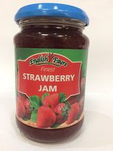 English Fayre Finest Strawberry Jam 340g Jar