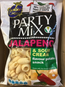 6x LowPrice Party Mix Jalapeno & Sour Cream Share Bag (6x125g)