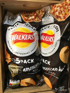 10x Walkers American Hot Pizza 25g (2x5 Pack)
