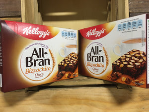 12x Kellogg's All Bran Cake Bars with Chocolate Chips (2 Packs of 6 Bars)