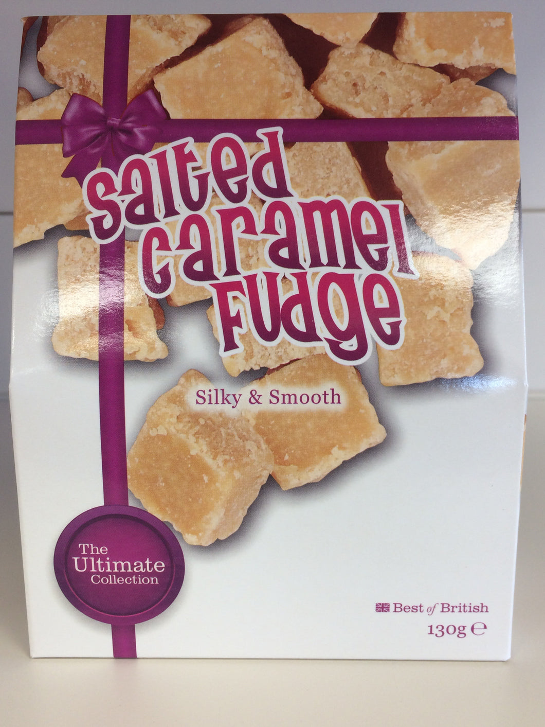 Ultimate Collection Salted Caramel Fudge 130g