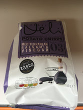 Market Deli Mediterranean Balsamic Vinegar Crisps Share Bag 150g