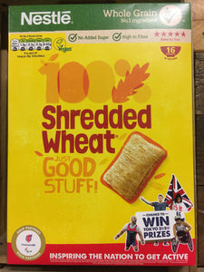 32x Nestle Shredded Wheat Cereal (2x Packs of 16 Biscuits)
