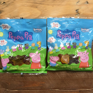 4x Peppa Pig Fruity Gummies Sharing Bags (4x120g)
