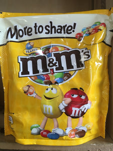 3x M&M's Peanut Large Share Bags (3x250g)