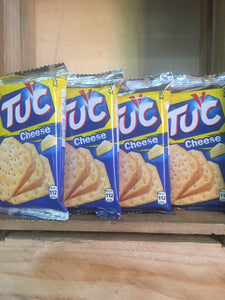 12x Packs of TUC Biscuits Cheese Flavour Snack 6x Biscuit Pack (12x24g)