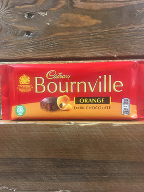 4x Cadbury Bournville Orange dark chocolate (4x100g)