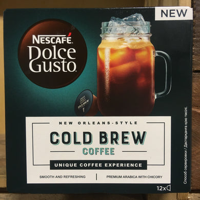 NESCAFÉ Dolce Gusto Cold Brew Coffee 12x captures
