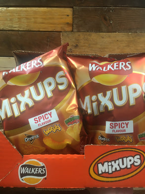 9x Walkers MixUps Spicy Flavour Share Bags (9x120g)