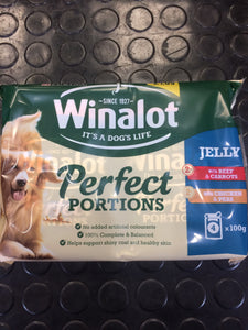 Winalot Perfect Portions in Jelly 4x100g
