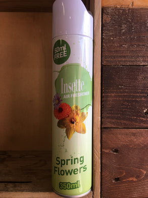 Insette Air Freshener Spring Flowers Fragrance 350ml