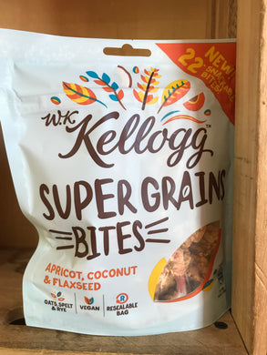 Kellogg Super Grains Bites Apricot, Coconut & Flaxseed 120g