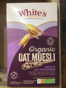 White's Oat Muesli Fruit & Nut Goodness 450g