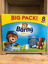 32x Barny Big Pack Milk Sponge Bears (4x8x30g)