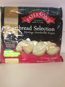 Patersons Shortbread Selection 300g