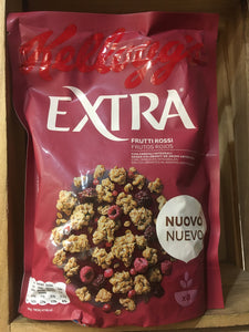 Kellogg's Extra Red Fruits Cereal 375g