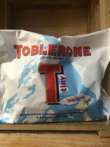 Toblerone Tiny Minis Swiss White Chocolate 200g