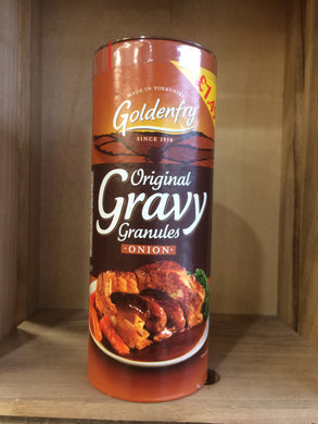 Golden fry original gravy granules onion 400g