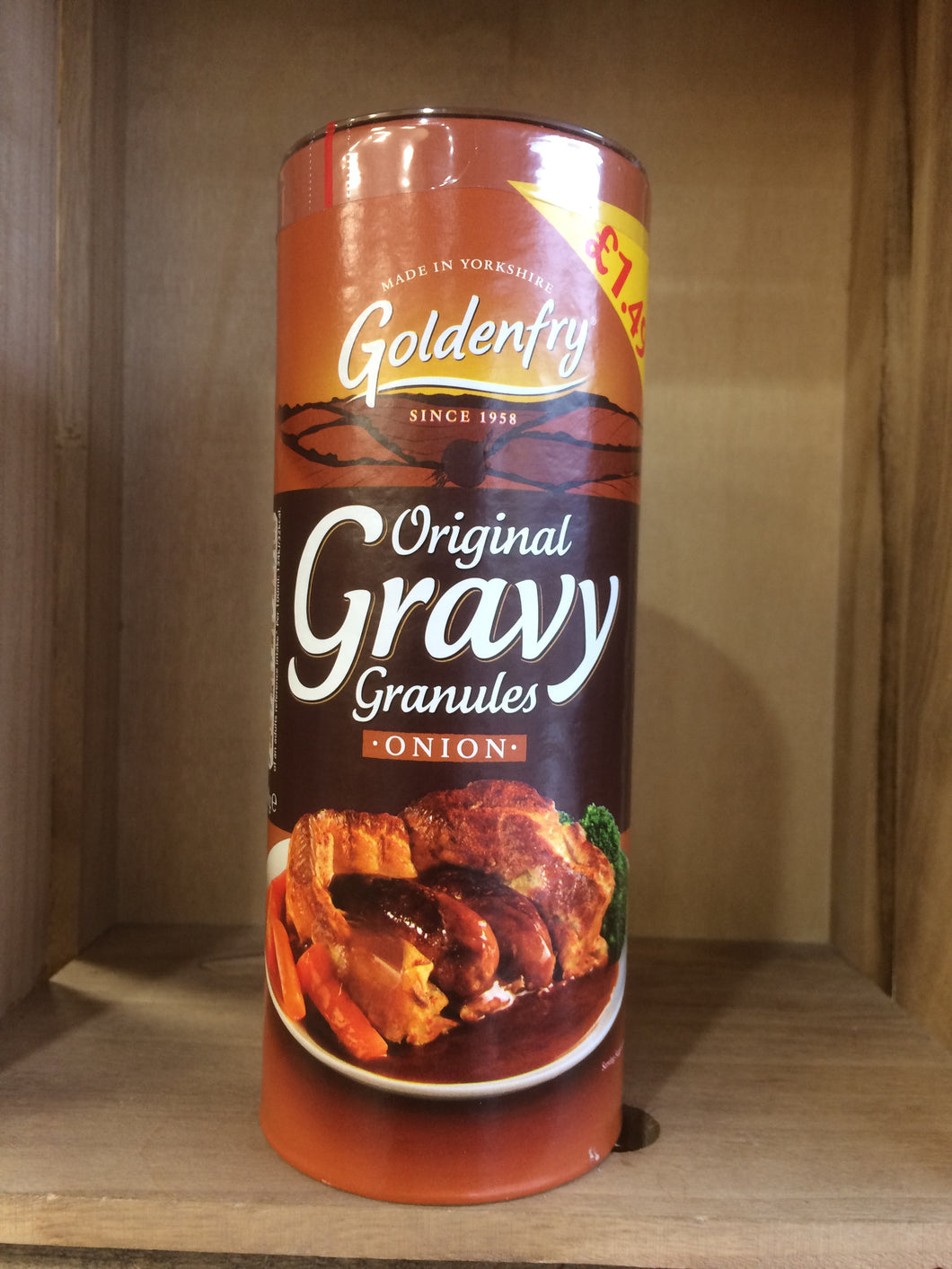 Golden fry original onion gravy granules 400g