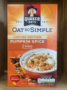 Quaker Oat So Simple Pumpkin Spice 283g