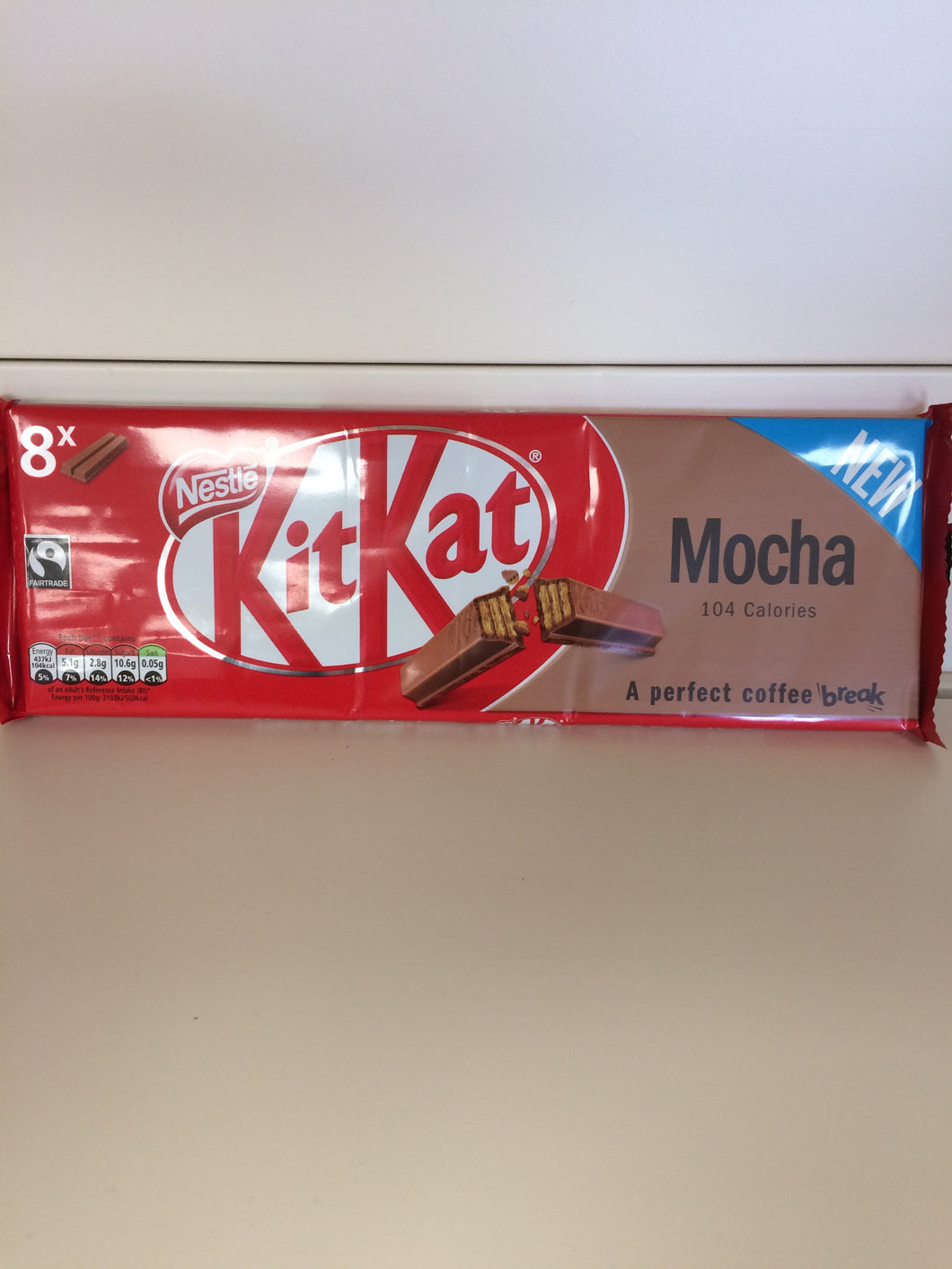 Kit Kat Mocha 8x 2 Finger Pack