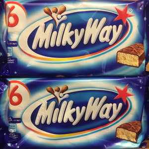 12x Milky Way Chocolate Bars (2 Packs of 6x21.5g)