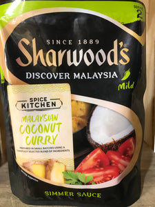 4x Sharwood's Malaysian Coconut Curry Simmer Sauce (4x250g)