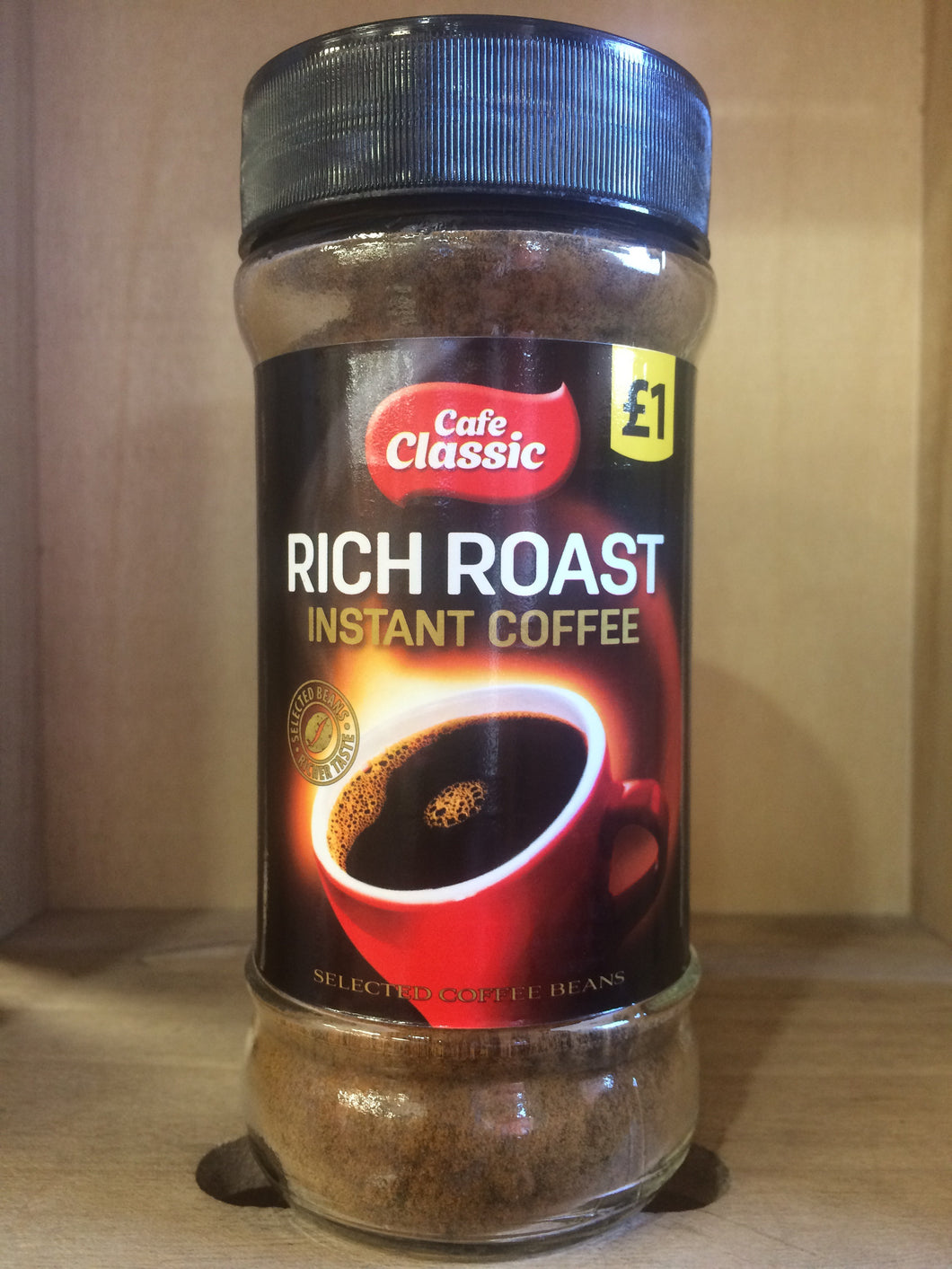 Cafe Classic Rich Roast Instant Coffee 80g
