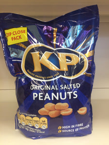 KP Original Salted Peanuts 1kg Zip Close Pack